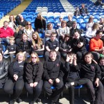 001 Colchester FC  THE HAKA  18th April 2015