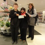 001 Waitrose Cheque Presentation April 2013