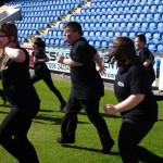 003 Colchester FC  THE HAKA  18th April 2015