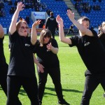 006 Colchester FC  THE HAKA  18th April 2015