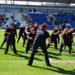 007 Colchester FC  THE HAKA  18th April 2015