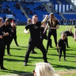 008 Colchester FC  THE HAKA  18th April 2015