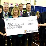 009 Billericay Round Table Cheque Presentation 17th Feb 2011