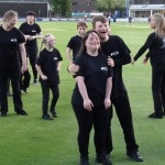 009 Essex County Cricket Club  THE HAKA 13th May 2015