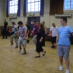 012 Salsa with Sarah 30th August 2012