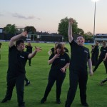 014 Essex County Cricket Club  THE HAKA 13th May 2015