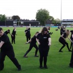 015 Essex County Cricket Club  THE HAKA 13th May 2015